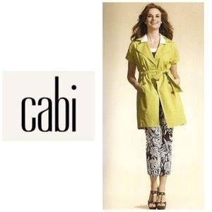 "Cabi ""Safari"" trench coat - loquat sz XL nwt 390"
